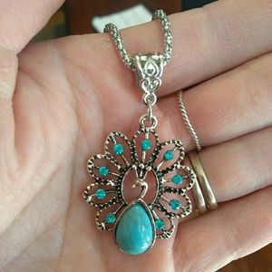 Jewelry - Peacock necklace - NWT